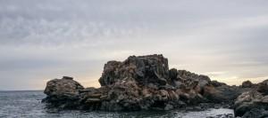 Formación rocosa en Teno