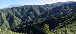 Panoramica del Monte del Agua